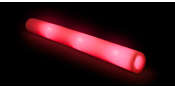 LED foamsticks Red 3 functions