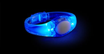 LED Audio Bracelet Blue