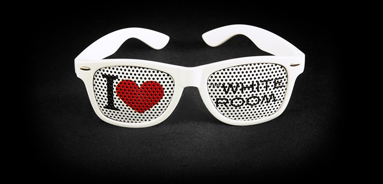 Pinhole Glasses with custom logo