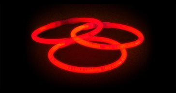 Glowsticks Bracelets Red